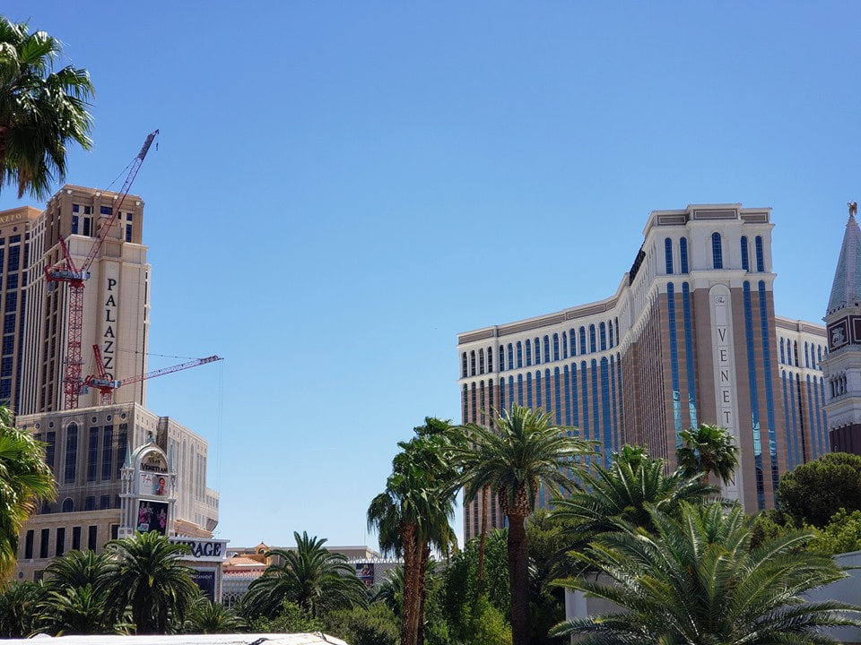 Picture of the Venetian and Palazzo taken during the IHG Conference in Las Vegas