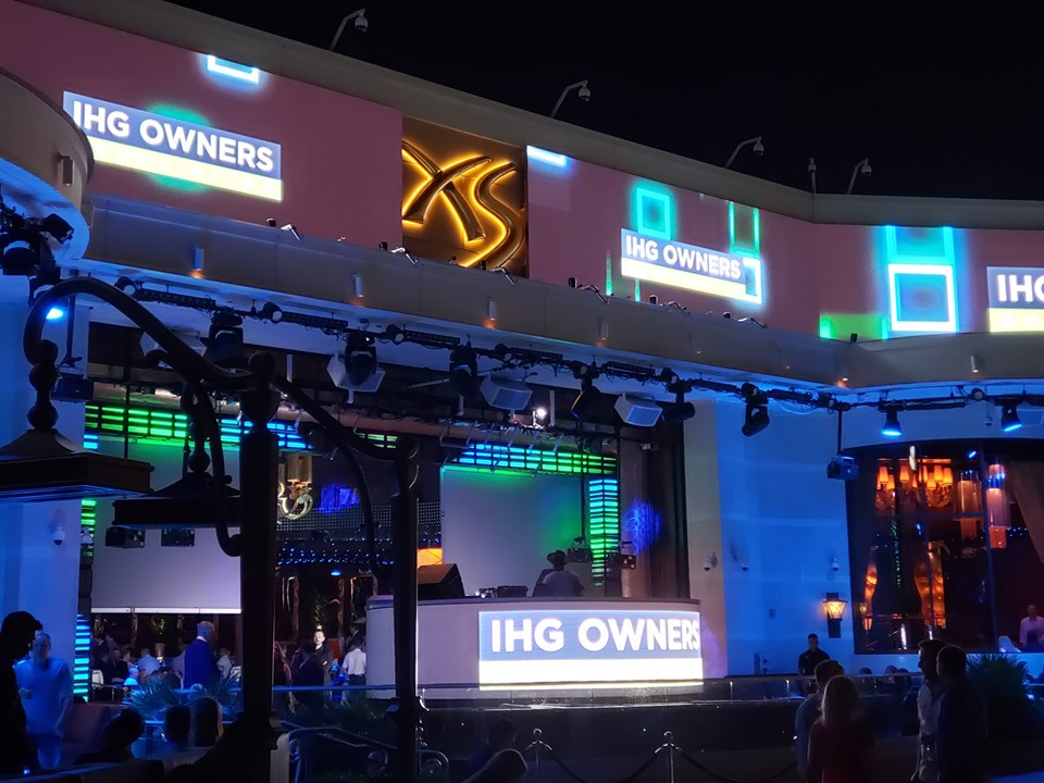 Picture taken during the IHG Owners Association members party in Las Vegas