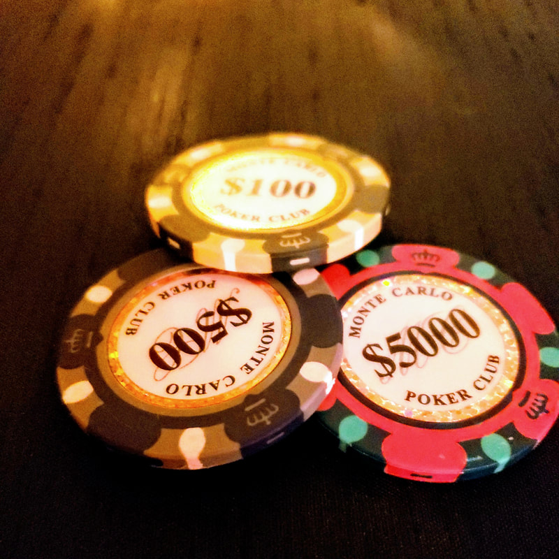 casino chips from the speakeasy event